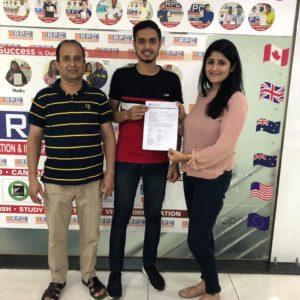 Mr. Akash Sharma Australia Study Visa