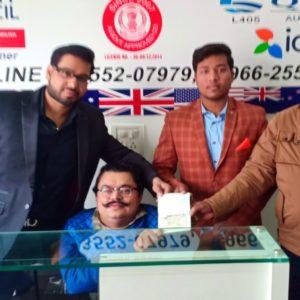 Mr. Akhilesh Kumar Canada Study Visa