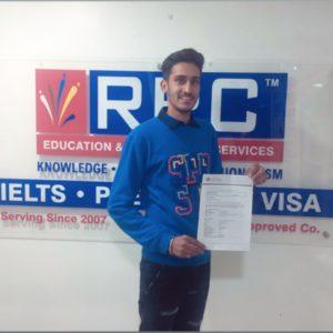 Mr. Dharampreet Singh Australia Study Visa