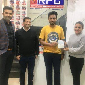 Mr. Divyansh Jain Canada Study Visa